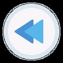 Backward Previous Button Icon