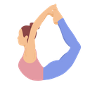 Backward Bend Icon