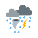 Bad Weather Clouds Icon
