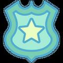Badge Police Law Icon