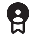 Badge Ribbon Award Icon
