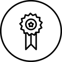 Badge Label Winning Icon