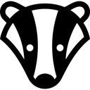 Badger Animal Wildlife Icon
