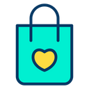 Shopping Bag Shopping For Charity Charity Bag Icon