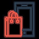 Mobile Phone Bag Icon