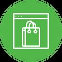 Bag Cart Shop Icon