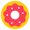 Bagel Doughnut Fast Food Icon