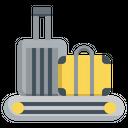 Baggage Carousel Trolley Baggage Icon