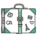 Baggege Case Journey Icon
