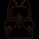 Bagpack Travel Bag Icon