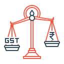 Balance Scale Gst Icon