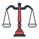 Balance Scale Law Icon