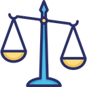 Balance Scale Court Justice Scale Icon