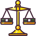 Balance Banking Justice Scale Icon
