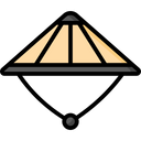 Bamboo Hat Icon
