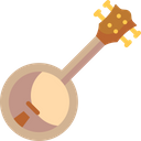 Banjo String Instrument Musical Instrument Icon