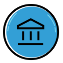 Bank Finance Business Icon
