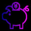 Bank Coin Finance Icon