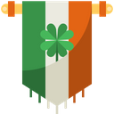 Banner Ireland Flag Icon