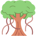 Banyan Tree Icon