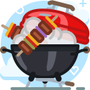Barbecue Cooking Food Icon