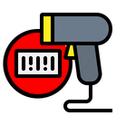 Scanner Barcode Product Icon
