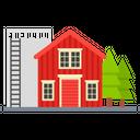 Barn Townhouse Farmhouse Icon