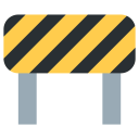 Barrier Construction Civil Icon