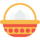 Basket Carry Eggs Icon