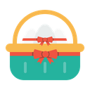 Basket Easter Day Icon