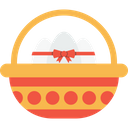 Basket Egg Eggs Icon