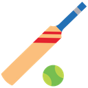 Bat And Ball Cricket Bat And Ball Cricket Bat Icon
