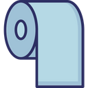 Bathroom Cleaning Paper Paper Roll Icon