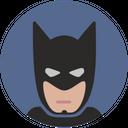 Batman Comics Hero Avatar Head Mask Icon