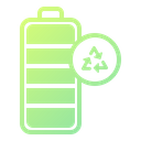 Battery Energy Recycling Icon
