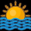 Beach Sea Summer Icon