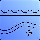 Beach Coastline Coast Icon