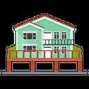 Beach House Home Homestead Icon