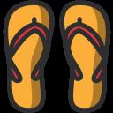 Beachslippers Icon