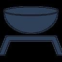 Beaker Stand Lab Accessories Lab Bowl Icon
