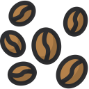 Beans Drink Coffee Icon