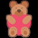 Bear Hug Heart Bear Hug Icon