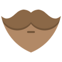Beard Mustache Hair Icon