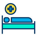 Hospital Bed Health Hospital Icon