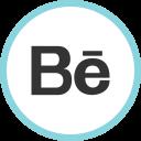 Behance Media Social Icon
