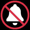 Bell Forbidden Mute Icon