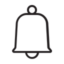 Notification Bell Alert Icon