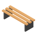 Bench Park Bench Outdoor Furniture Icon