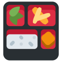 Bento Box Food Icon
