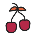 Berry Cherry Autumn Icon